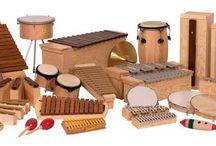 Orff instrumentarium