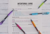 New Years resolutions: intentional living