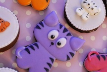 chats tigrés sur biscuit