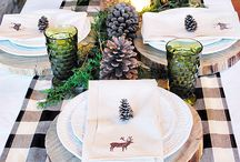 Table setting & decorating