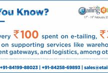 eTailing Trivia / Did You Know the facts about Indian eCommerce? No, Then we can help you. Stay Tuned for more updates..