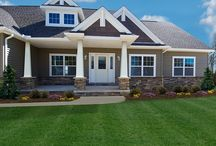 Craftsman Style Custom Homes / Visit www.waynehomes.com to learn more about building a custom home with us! / by Wayne Homes