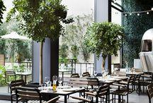 Restaurant terasse