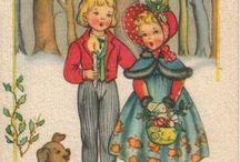 Cartoline natalizie italiane