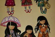 muñecas en porcelana