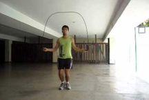 exercícios com corda