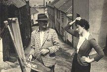 C: Newlyn School of Art, Britain, 1880's / Stanhope Alexander Forbes, Walter Langley, Doc Proctor (Doris Margaret Proctor) / by Nancy Carter
