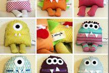 yr 8 fleece / felt toys