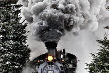 Locomotives and trains