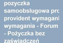 Pożyczka bez zaświadczeń / Wszystko o pożyczkach pozabankowych oraz bankowych w Polsce.