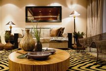 African living room / by Janelle Devlin