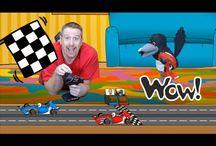 English for kids - Adjectives/Differences / Educational and entertaining interactive materials for kids presenting adjectives and differences. Watch the stories with Steve and Maggie, have fun and learn at the same time! If you want to see more visit free YouTube channel Wow English TV: https://www.youtube.com/c/WOWENGLISHTV