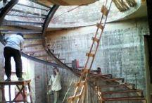 spiral staircase tamilnadu / spiral staircase installations(after custom manufacturing) done by us in tamilnadu,kerala,karnataka