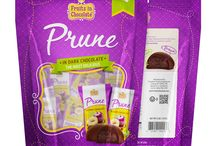 Dark Chocolate Covered Prunes, 6 oz Bag / Rich in color and texture, California prunes covered in premium dark chocolate have quickly become a favorite among our beloved customers. This sweet and healthy treat is delightful for any occasion! Packaged in a convenient resealable pouch, the smaller size of our 6 oz Stand-Up bag makes it an ideal snack to grab and go.