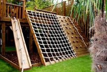 Kids playground, toys diy