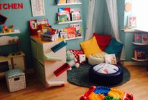 Playroom Ideas! / Playroom decor, Kids interiors and kids designs