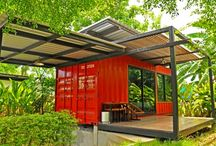 Container house designs / Building house from containers