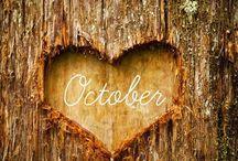 October / Dekoracje