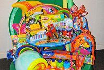 Raffle gift baskets