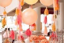 Floral & Decor - Orange