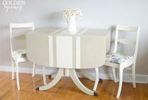Table Talk / I'm a table-aholic. There is no support group. But, there's always an auction...