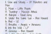 Diverse musikklister