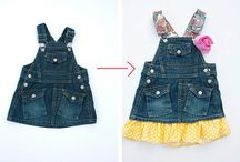 SEWING: RECYCLE KID CLOTHES