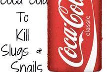 Coke / Use in garden for slugs
