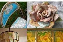 Globes, Maps, & Atlases: Upcycle Repurpose Recycle Reuse DIY