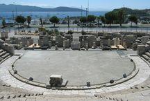 Bodrum Antik Tiyatro / Bodrum merkez , antik tiyaro