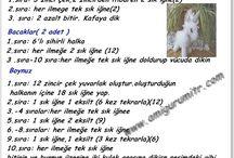 Amigurumi Türkçe tarif