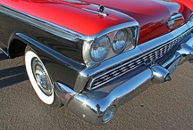 Tailfins, Chrome and Muscle / by The Art of The Automobile