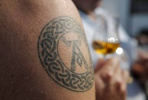 Ardbeg Tattoos / This Board is not intended to be seen by persons under the legal alcohol drinking /buying age nor in countries with restrictions on advertising on alcoholic beverages / by Ardbeg Whisky