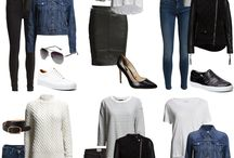 mix & match minimal wardrobe AW