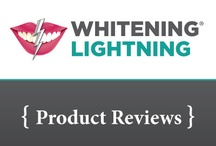 WL Product Reviews / Just *some* of the wonderful reviews for Whitening Lightning products. / by Whitening Lightning