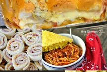 Tailgates & Homegates / A collection of recipes and ideas for the big game. Whether you're tailgating at the stadium or watching football from home I've got you covered!