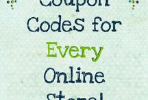 Coupon Sites /Saving Sites / by Shanna Boyack