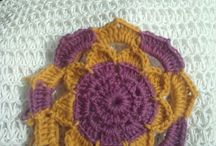 My own. / My knitting, halloween, crochet yms.