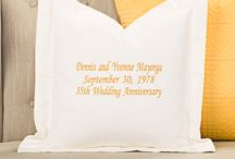 Special Occasions / Custom Pillows that are great gifts for various special occasions.