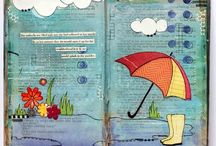 Journal Créatif / Journal intime et artistique