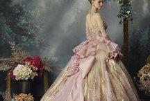šaty jako pro princeznu