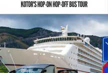 Kotor hop on & off bus - forms to book in advance