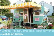 Vintage trailer makeovers... / by MyNeed2Craft by Terri Deavers