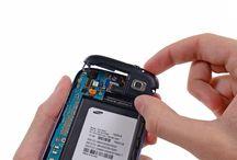 Bytte av Samsung Galaxy S3 hodetelefonutgang/høyttalere