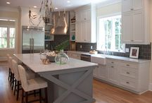 White Kitchens / by Amber Conover