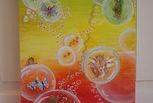 eigen werk / schilderijen