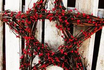 Natural Xmas decorations