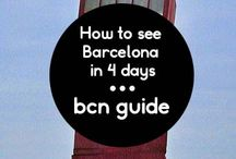 Barcelona Guides / Your ultimate guide for visiting Barcelona - all the information you could need on the best spots and must-sees and also all the secret spots you won't find from anyone else!