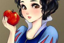 Portrait princesse disney
