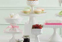 So Lovely Pedestal Cake Stands and Pedestal Serving Bowls